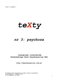 Texty – Online – Cracow Circle